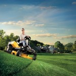 Cub Cadet Zero Turn Ride on Lawnmower with Steering Wheel