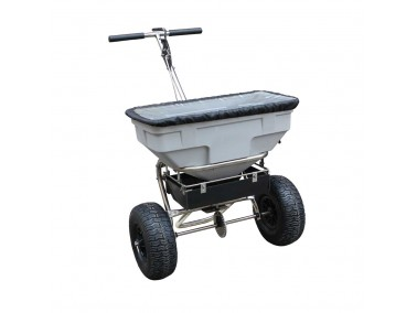 Tondu 125lb Walk Behind Salt Spreader TPSS125
